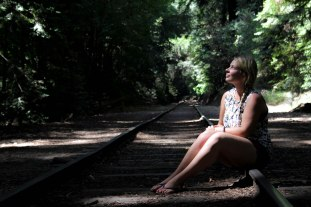 Marlien at the Redwoods