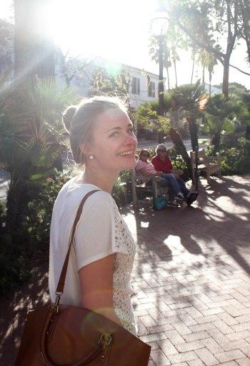 Roze in Santa Barbara