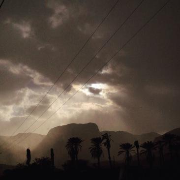 Desert weather. Shot with iPhone5, ©ElineMillenaar