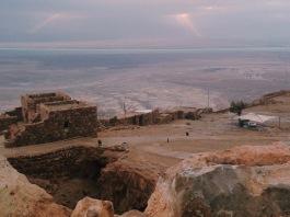 Masada ruins. Shot with iPhone5, ©ElineMillenaar